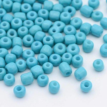 Rocailles Aqua 4mm, 20 gram