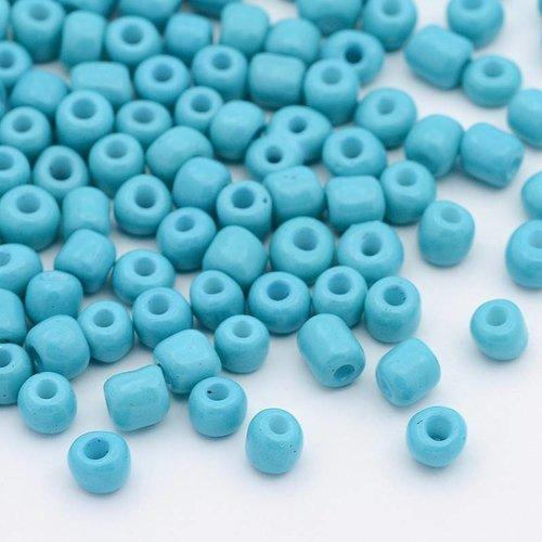 20 gram Rocailles Aqua 4mm