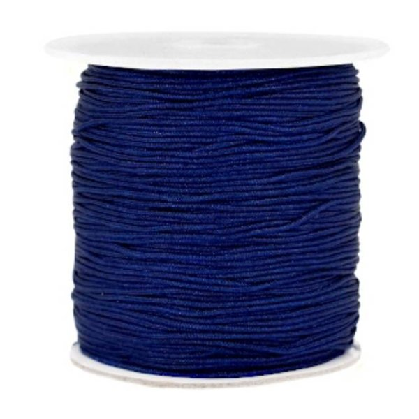 Macramedraad 1mm Dark Blue, 5 meters