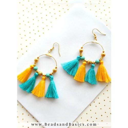 Roundie Hoop Earrings - Trend Item