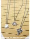 Stainless Steel Necklace Silver 2mm with Clasp