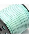Faux Suede Cord Mint Green 3mm, 3 meter