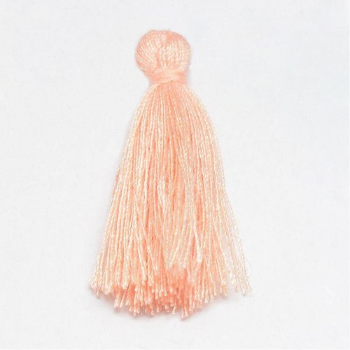 Tassel Light Salmon Pink 30mm, 5 pieces