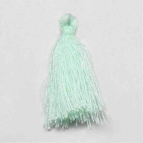 Tassel Mint Green 30mm, 5 pieces