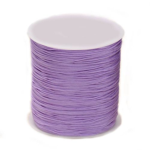 5 meter Macramecord 1mm Lilac