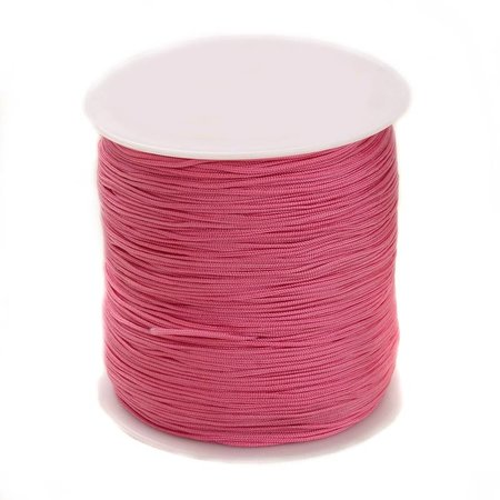 5 meter Macramecord 1mm Pink
