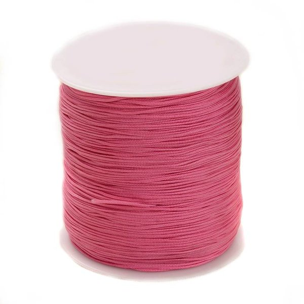 Macramecord Pink 1mm, 5 meter
