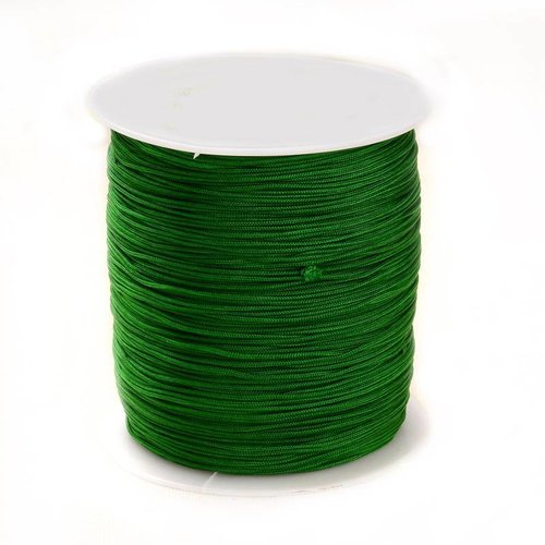 5 meter Macramecord 1mm Green