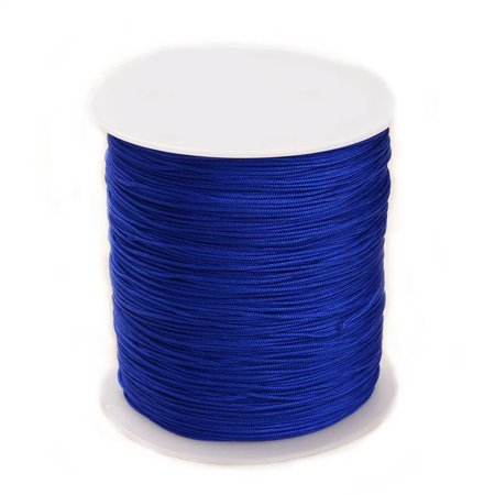 5 meter Macramecord Blue 1mm