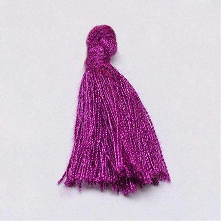 Tassel Purple 30mm, 5 pieces