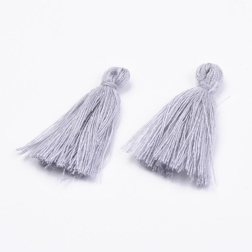 Tassel Gray 30mm, 5 pieces