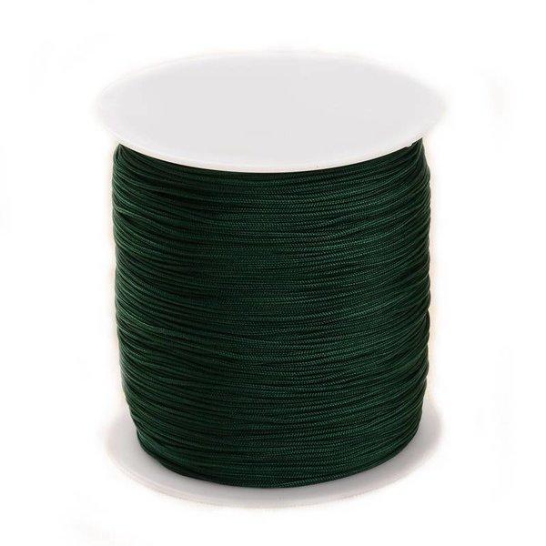 Macramecord Dark Green 1mm, 5 meter