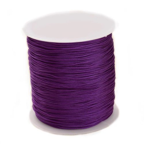 5 meter Macramecord 1mm Purple