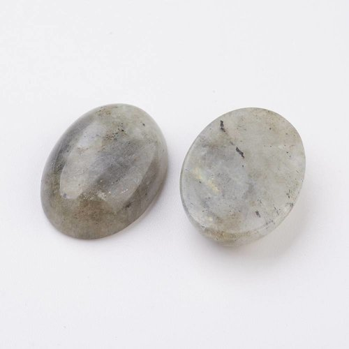 Natural Labradorite Cabochon 18x13x5mm