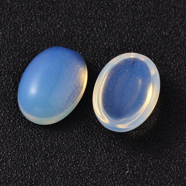 Natural Opalite Gemstone Cabochon 18x13x5mm