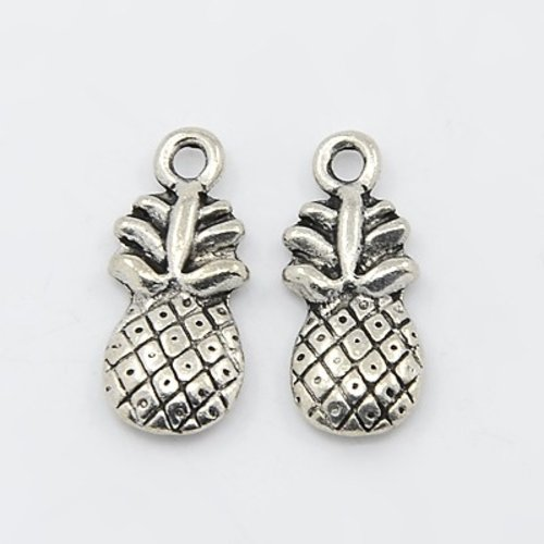4 pcs Pineapple 19x9mm