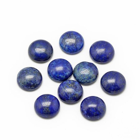 Lapis Lazuli Gemstone Cabochon 10mm