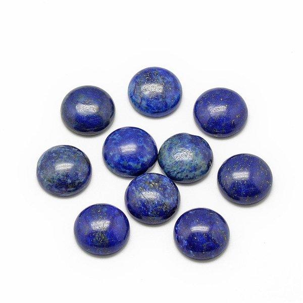 Natural Lapis Lazuli Gemstone Cabochon 10mm