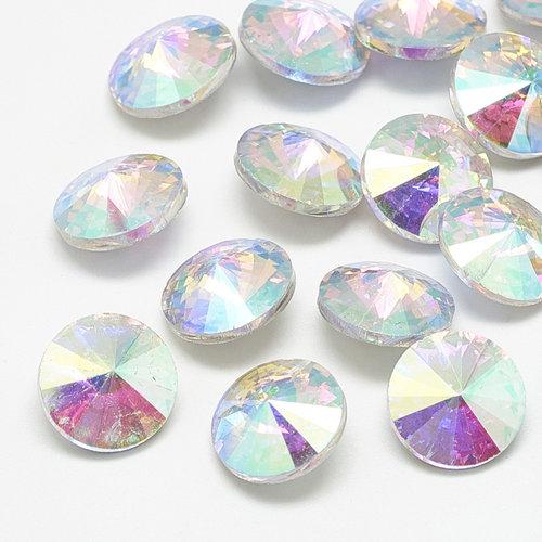 Rivoli Pointstone 12mm Crystal