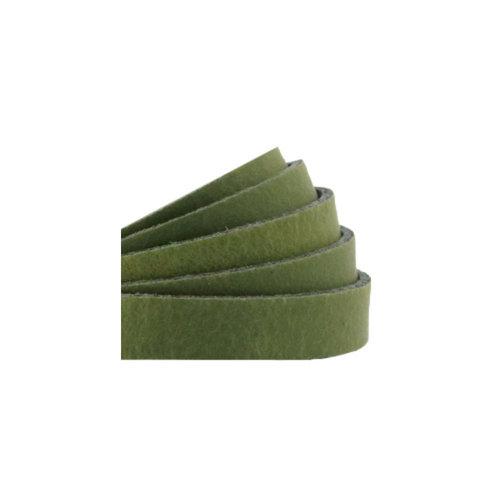 60cm Echt Leer DQ 10mm Groen