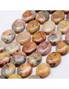 5 pieces Natural Crazy Agate Beads 17x14mm