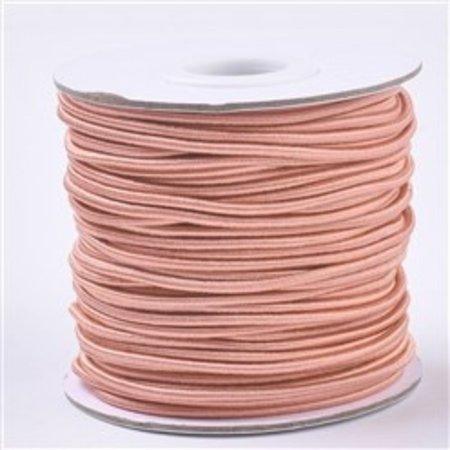 Elastic 1.5mm Coral Pink, 1 meter