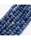 Natural Blauwe Aventurijn Kralen 8mm, streng 46 stuks