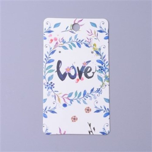 Jewelry Cards LOVE, 100 pieces