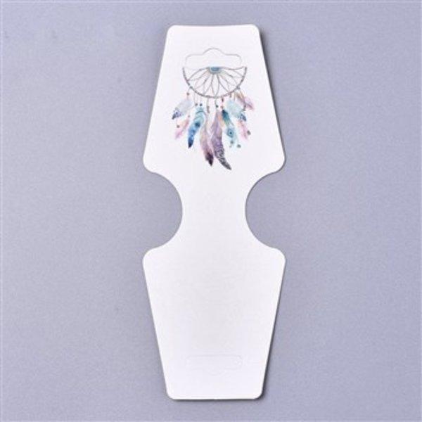 Jewelry Cards Dreamcatcher Boho, 100 pieces