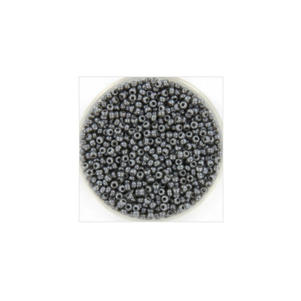 Miyuki Seed Beads 11/0 Opaque Luster Smoke, 5 grams