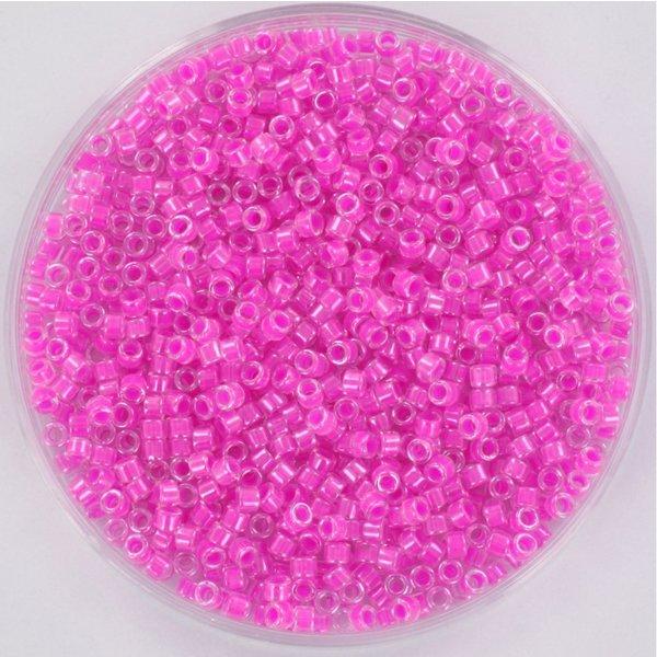 Miyuki Delica's 11/0 Luminous Hot Magenta, 5 gram