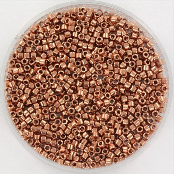 Miyuki Delica's 11/0 Plated Copper, 5 grams