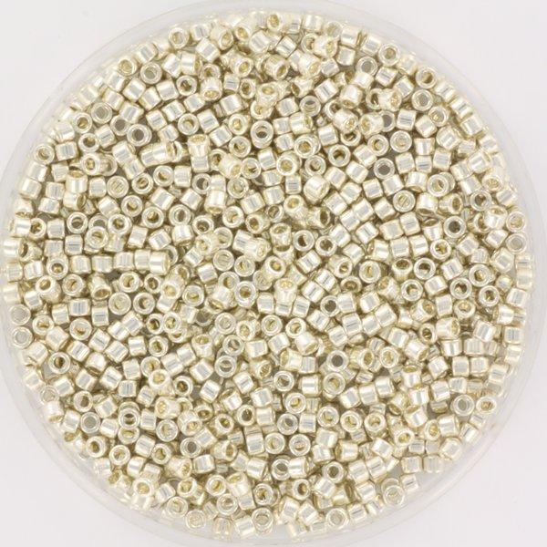 Miyuki Delica's 11/0 Galvanized Silver, 5 gram