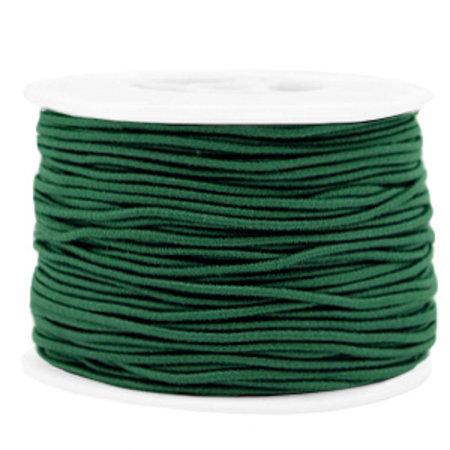 Elastic 1.5mm Dark Green, 1 meter