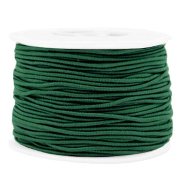 Elastiek 1.5mm Donker Groen, 1 meter