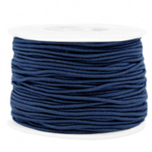 Elastiek 1.5mm Donker Blauw, 1 meter