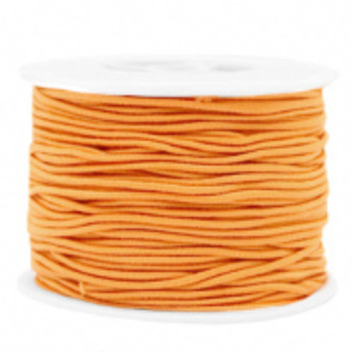 Elastiek 1.5mm Oranje, 1 meter