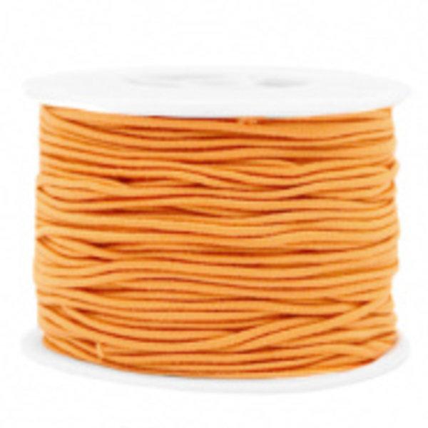 Elastiek 1.5mm Oranje , 1 meter