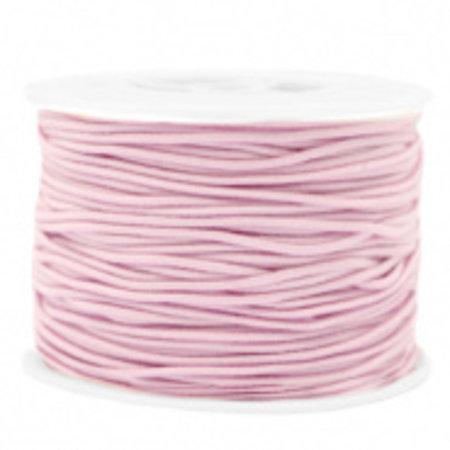 Elastic 1.5mm Light Pink, 1 meter