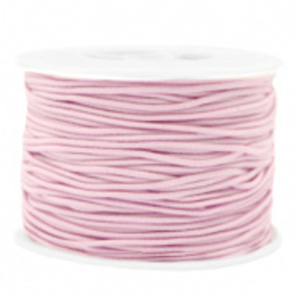 Elastic 1.5mm Light Pink, 1 meter