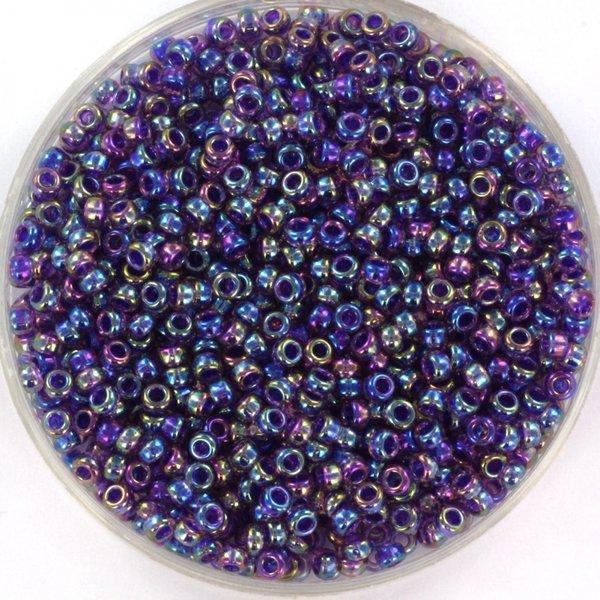 Miyuki Seed Beads 11/0 Purple Lined Amethyst AB, 5 grams