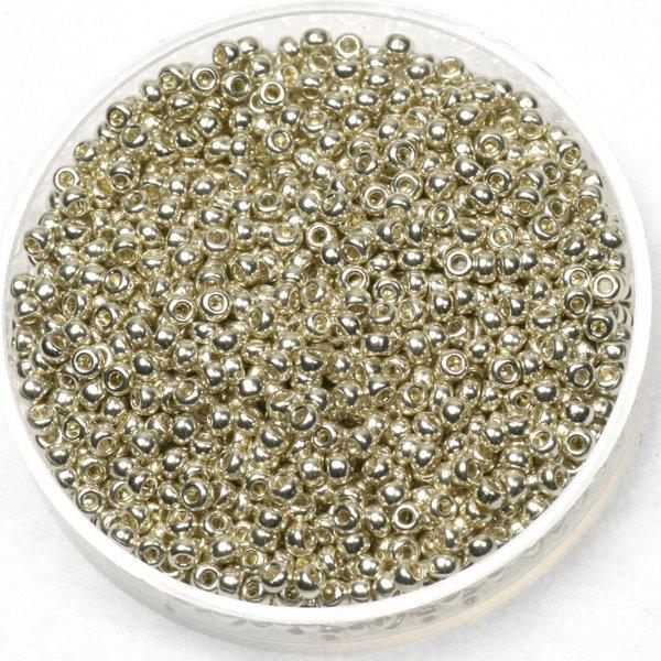 Miyuki Seed beads 11/0 Galvanized Silver, 5 gram
