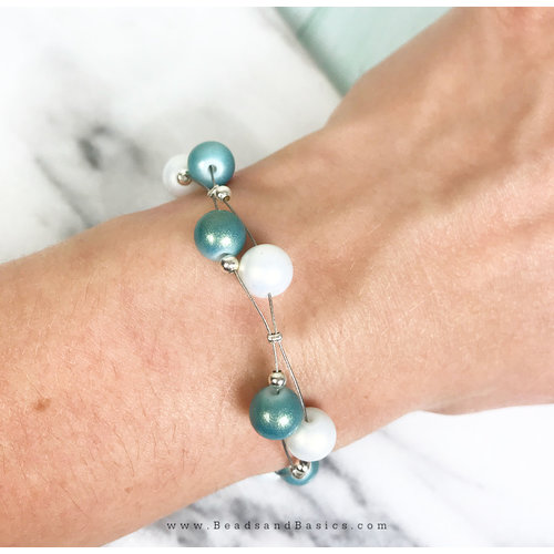 Make a Bracelet with Pearls