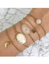 Gouden Armbandjes van Jasseron met Tussenzetsels