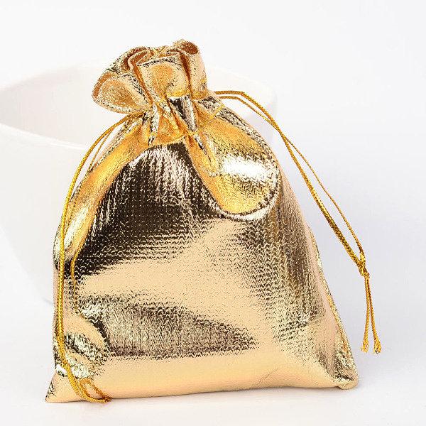 Cadeau Zakjes  Metallic Goud 9x7cm, 10  stuks