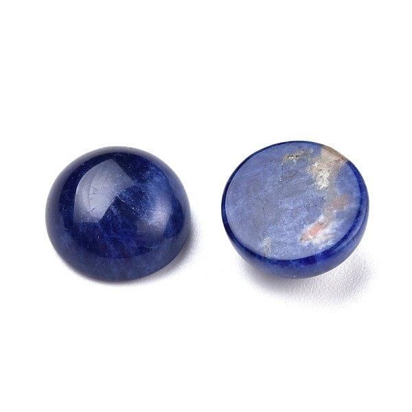 Natural Sodalite Grade A Gemstone Cabochon 10mm