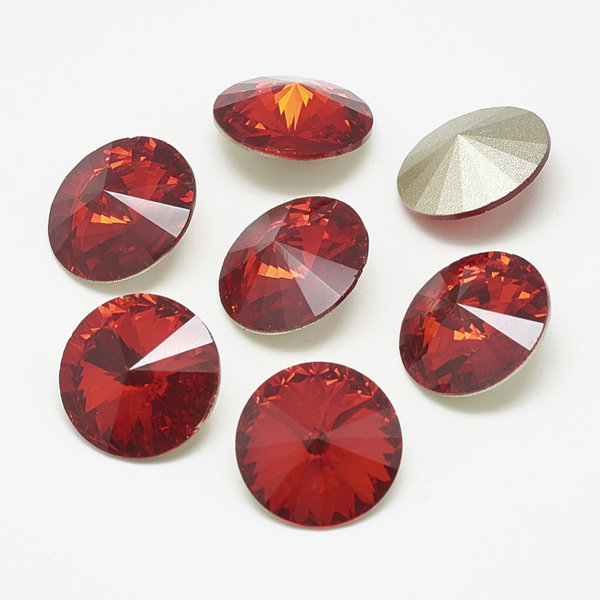 Point Stone Red Siam 6mm / ss29