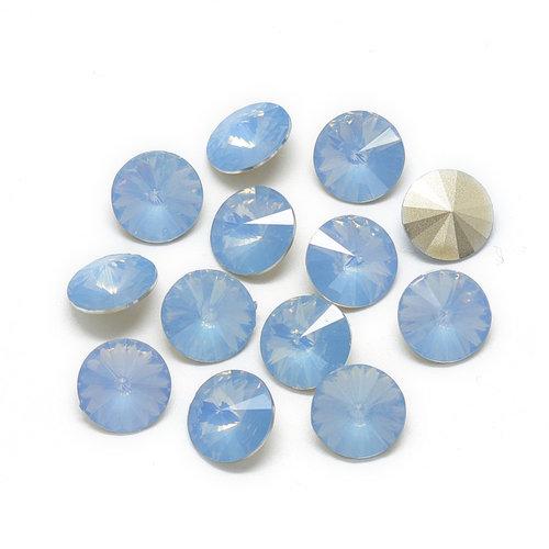 Puntsteen Cornflower Blue 6mm