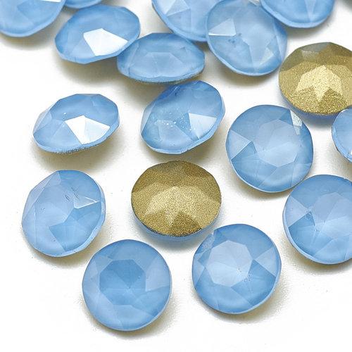Puntsteen Soft Blue 6mm