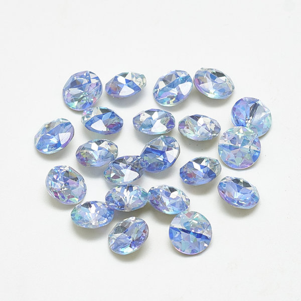 Point Stone Blue Diamond  6mm / ss29